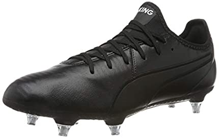 PUMA King Pro SG, Zapatillas de Fútbol Hombre, Negro Black White, 41 EU