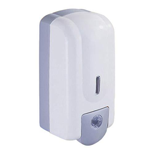KUANDARMX Dispensación Manual Dispensadores De Jabón, Montado En La Pared Sensor Dispensador De Jabón Espuma Dispensador Espuma Dispensador De Manos para La Cocina Baño, White