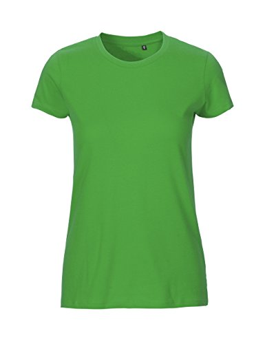 Green Cat Ladies Fitted T-Shirt, 100% Bio-Baumwolle. Fairtrade, Oeko-Tex und Ecolabel Zertifiziert, Textilfarbe: grün, Gr.: M