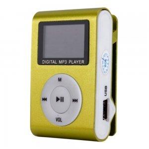 2GB Small Screen Clip MP3 Player Green