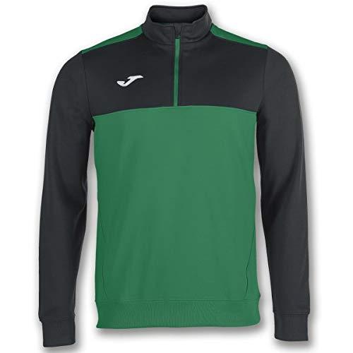 Joma Winner, Felpa Uomo, Verde/Nero, L