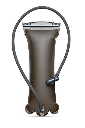 Hydrapak Unisex-Adult Ultra robuste Trinkblase Force 3 L mit isolierter Schlauch, Mammoth Grey