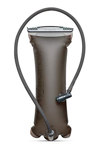 Hydrapak A523 Unisex-Adult Ultra robuste Trinkblase Force 3 L mit isolierter Schlauch, Mammoth Grey
