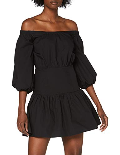 Guess Damen Ottavia Dress Kleid, Nero, M