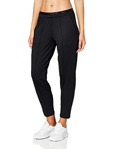 Nike W Nk Track Pant – Pantaloni da Donna, Donna, Pantaloni, BV2891, Nero/Argento Specchio, S