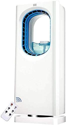 XPfj Multifunción Mobile Aire Acondicionador Aire Cooler con refrigeración por Agua Enfríe silencioso Evaporativo Fan eléctrico con Control Remoto para el hogar y la Oficina Enfriadores evaporativos