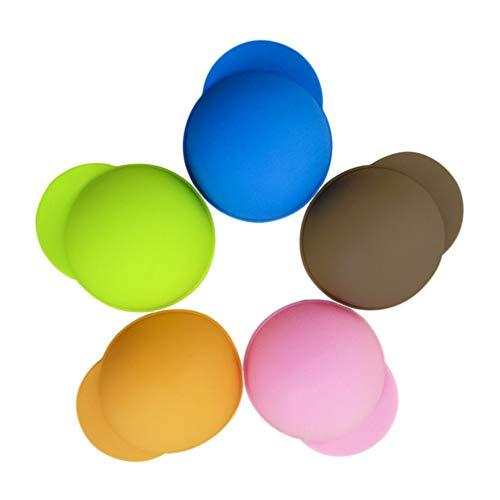 Hemoton 10 Stück Silikon Getränkedose Deckel Silikon Dose Kappe Getränkedose Topper Dose Sparer Energy Drink Dosen Stopper Staubdicht Auslaufsicher für Den Heimgebrauch (Zufällige Farbe)