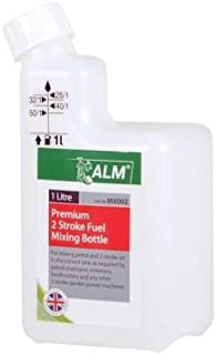 ALM Manufacturing - MX002 2 Stroke Fuel Mixing Bottle White - ALMMX002