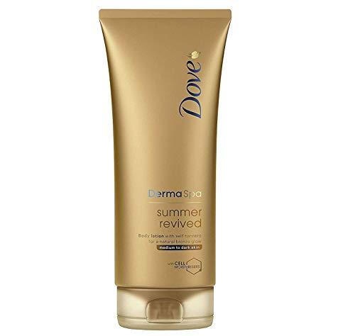 Dove Derma Spa Summer Revived Medium to Dark Skin Body Lotion 200ml (PACK...