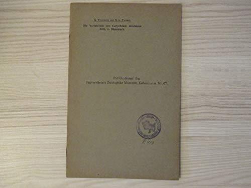 Die Variabilität von Carychium minimum Müll. in Dänemark. [særtryk af Vidensk. Medd. fra Dansk naturh. Foren. Bd. 88. (pp. 293-300)]