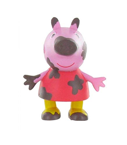 Peppa Pig Mud Peppa Peppa Pig Mini Figura, Multicolor, 6 cm