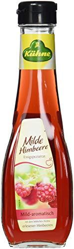 Kühne Essig Himbeere, 250 ml Karaffe, 1er Pack (1 x 250 ml)