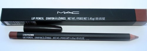 MAC Lip Pencil Stripdown