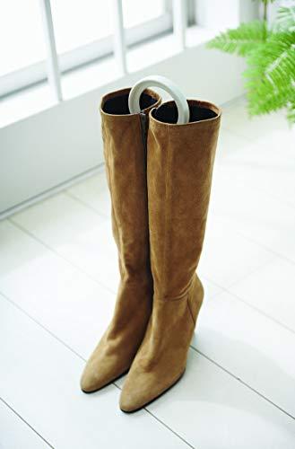 ライクイット(like-it)靴収納ブーツキーパークリップ2P幅10x奥41x厚1.6cmナチュラル日本製FS-12L