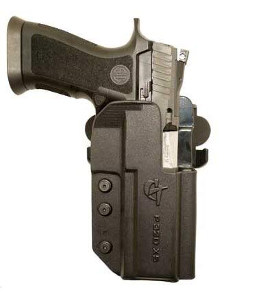 COMP-TAC.COM International Holster Sig - P320 Series (fits P320 Full Size, X-Five Full Size and Legion) - Right - Black (Belt, Paddle, Drop Offset)