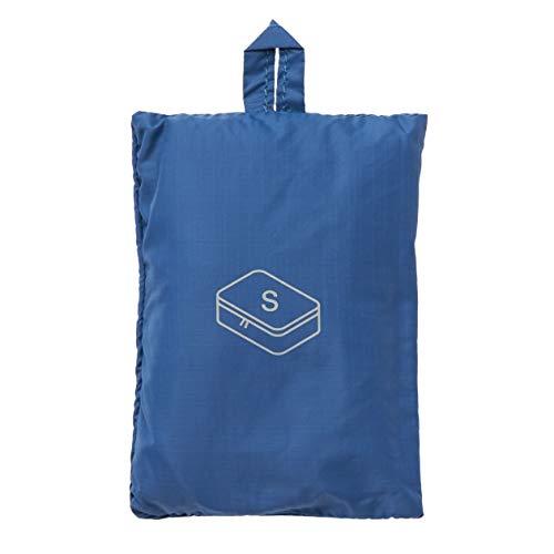 MUJI - Gusset Case S Blue