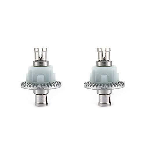 Differential Getriebe Getriebe Lager Ersatzteile Getriebe Vorder- und Hinterachse Differential Für XLH 9125 RC Car - Silber