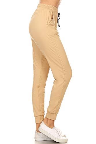 Pantalones Beige  marca Leggings Depot