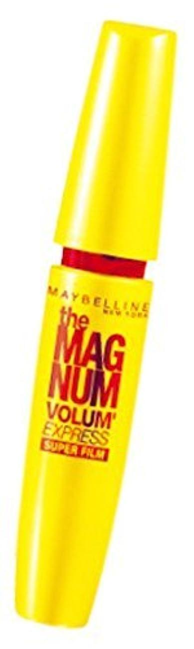 ずっと死ぬコレクションメイベリン ボリューム エクスプレス マグナム スーパーフィルム 01 ブラック