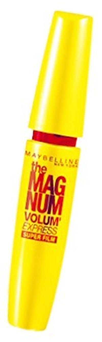 枠ブロックする援助メイベリン ボリューム エクスプレス マグナム スーパーフィルム 01 ブラック