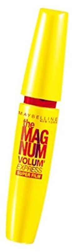 全能士気聞きますメイベリン ボリューム エクスプレス マグナム スーパーフィルム 01 ブラック