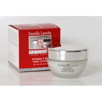 Danielle Laroche Vitamin a & E Night Cream by Danielle Laroche