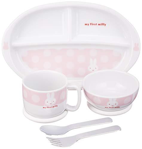 ディック ブルーナ 「 My First Miffy 」 ミッフィー 離乳期 5点セット 子供用 食器 ピンク 407752
