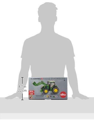 RC Traktor kaufen Traktor Bild 1: DEMA John Deere 7R mit Frontlader, Fernsteuermodul/6777*