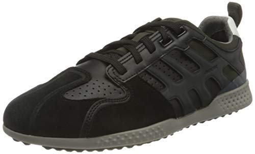 GEOX U SNAKE.2 B BLACK Men's Trainers Low-Top Trainers size 44(EU)