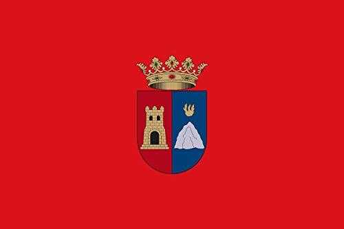 magFlags Bandera Large Proporciones 2 3. De Rojo | Bandera Paisaje | 1.35m² | 90x150cm