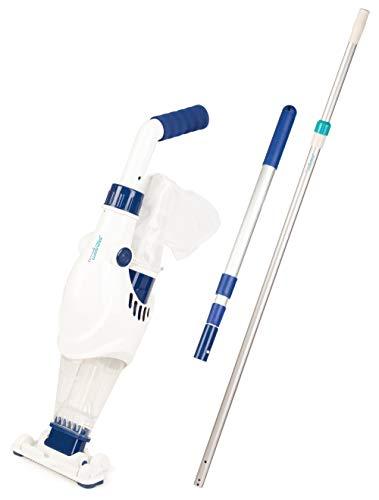 time4wellness Wels I oder Wels II Poolsauger optional mit Komfort oder Komfort Plus Teleskopstange (Wels I, 2,40m Teleskopstange)