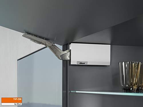 Gedotec Blum Aventos HK-Top TIP-ON 22K2500T Push-to-Open blanco mate LF 980-2800 -...