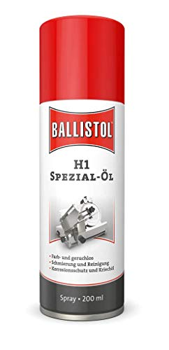 Ballistol 82171 Aerosoldose Spray, H1 Spray, 200 ml, 25310