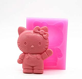 Cake Molds - Wholesale Retal P317 Hello Kitty Cartoon Cake Mold Cat Silicone Mould - Letters Baby Lace Bundt Unicorn Heart Decorating Shape Flowers Numbers Stainless Shapes P