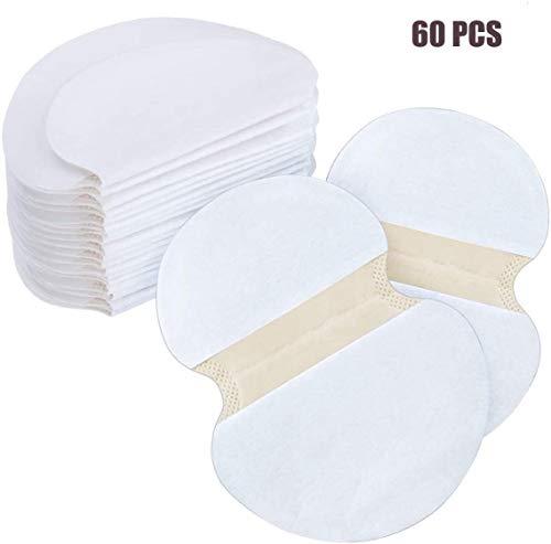 Onderarm Sweat Pads, Disposable Underarm Zweet absorberend Deodorant Sticker, ademend non-wovens Shield Absorbing Anti transpiratiegeur Blad for mannen en vrouwen 60 stuks