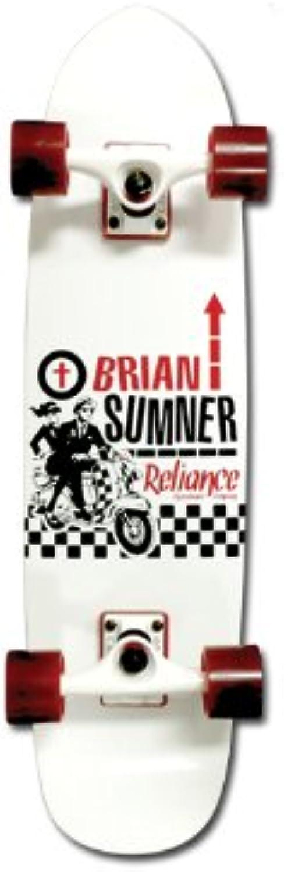RELIANCE Complete Brian Sumner Ska Cruiser 8.2x31 Skatingboard Deck