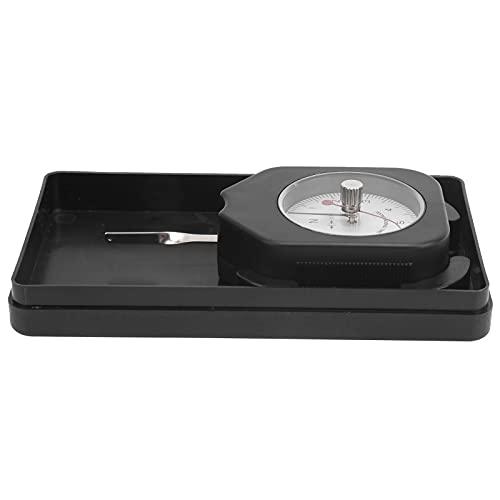 Tensiómetro de calibre SEN52 Unidad de medidor de tensión de fuerza de aguja doble Esfera N 5N con medición de tracción de puntero