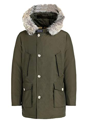 Woolrich WOCPS167S CN01 Parka Uomo Df Verde Scuro...