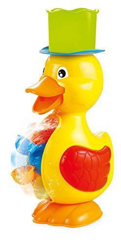 Small Foot 11302 Jouet de bain canard 2 pièces, jeu aquatique à partir de 18 mois, dans un bel emballage coloré