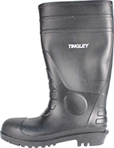 Tingley 31151 Economy SZ13 Kneed Boot for Agriculture  15-Inch  Black