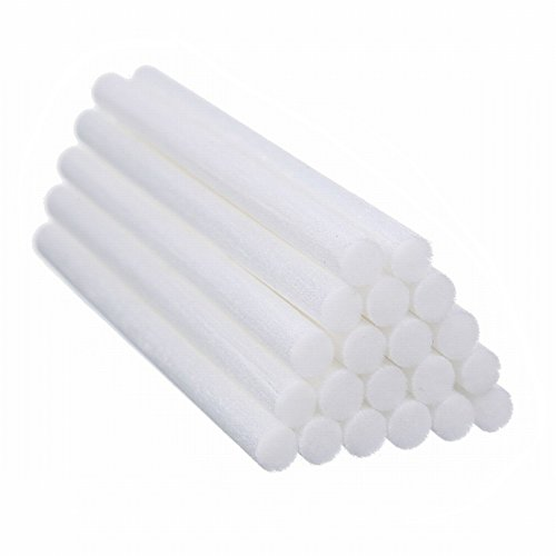 Humidifier Filters Sticks,4.5'' Cotton Sticks Wicks Replacements for Mini Cactus Humidifiers (20 PCS)