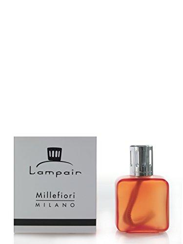 MILLEFIORI MILANO DIFFUSORE CATALITICO LAMPAIR SQUARE GLASS ARANCIONE