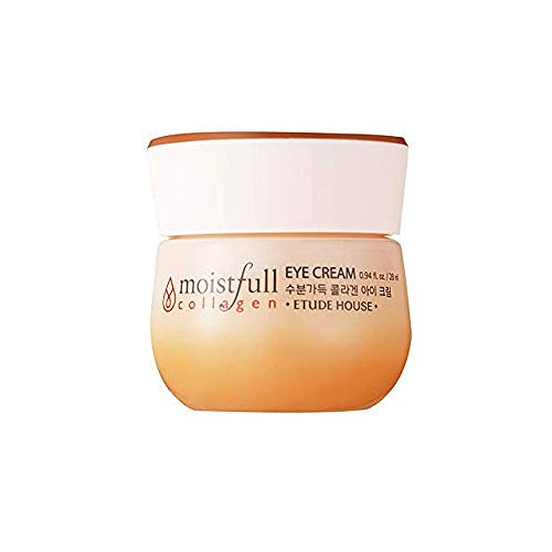 ETUDE HOUSE Moistfull Collagen Eye Cream 28ml | Small Particles of Super Collagen Water Makes Skin Around Eye Full of Firming Moisture and Feeling Bouncy