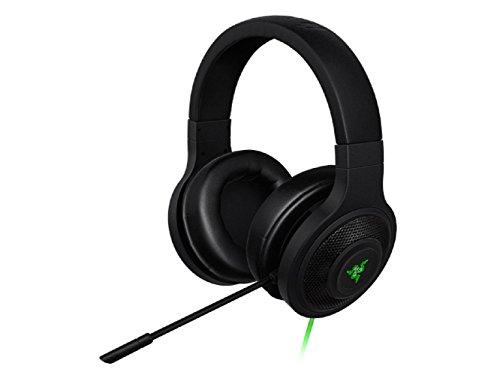 Razer Kraken USB Binaural Head-Band Black Headset–Headsets (PC/Gaming, Binaural, Head-Band, Black, Wired, USB)