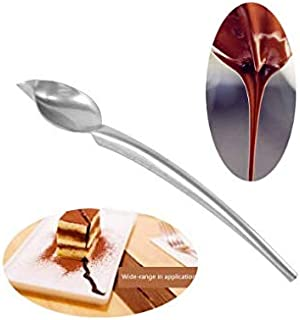 S.Han Chocolate Drawing Spoon Pencil 1Pc Stainless Steel Spoon Cake Decoration Tool