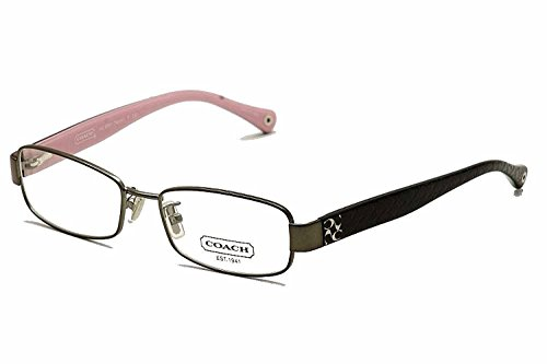 Coach Women's HC5001 Eyeglasses (Dark silver, 52)