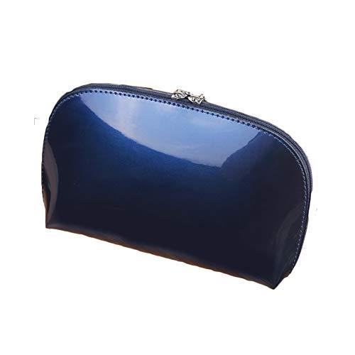 Trousse à Maquillage Nouveau Sac de Rangement de Voyage de PVC de Femmes de Sac à Main portatif à cosmétiques LTJHJTCD (Color : Royal Blue Color, Size : Free Size)