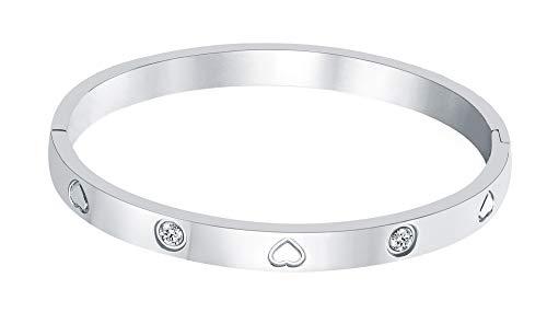 ladies stainless steel bracelets - 5