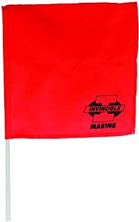 Invincible Marine Orange Water Ski Flag
