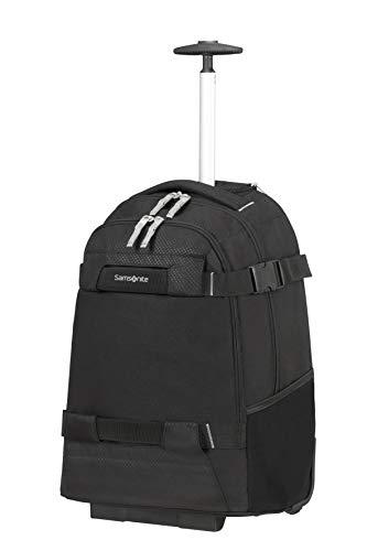 Samsonite Sonora - 17 Inch Laptop Backpack with Wheels, 55 cm, 30 L, Black